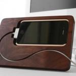 BaseStation Dock iPhone en bois