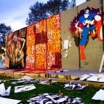 Behind the Berlin Wall Exhibition par D*Face et Retna