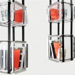 Bibliotheque suspendue design Upside Down