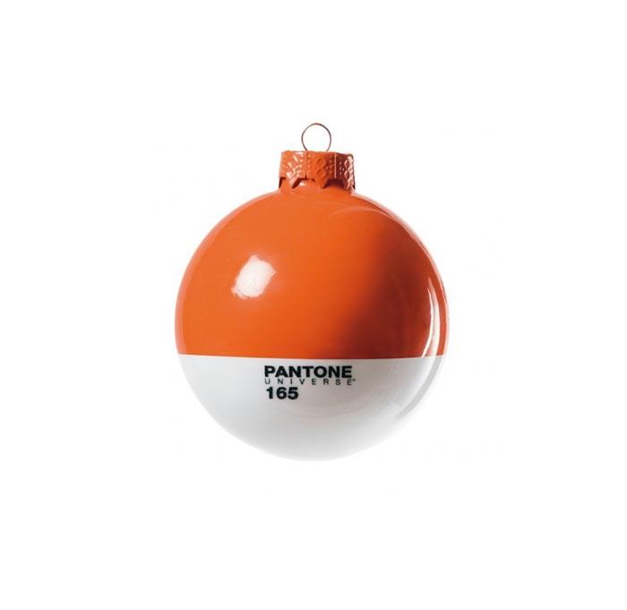 Boule de Noel Pantone orange
