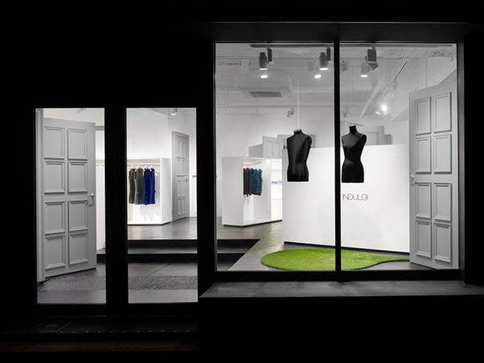 Boutique design Indulgi par Nendo