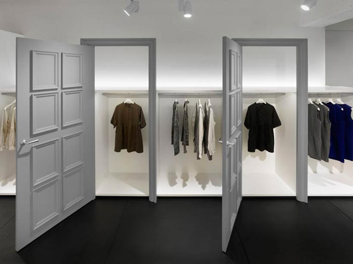 Boutique design par Nendo