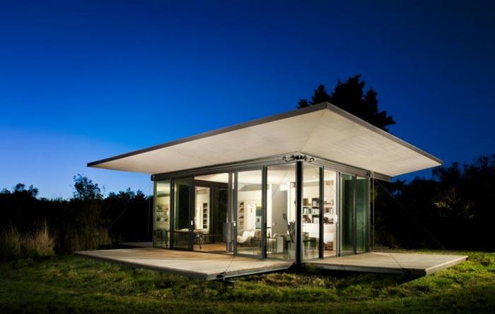 Bungalow design-baie vitree