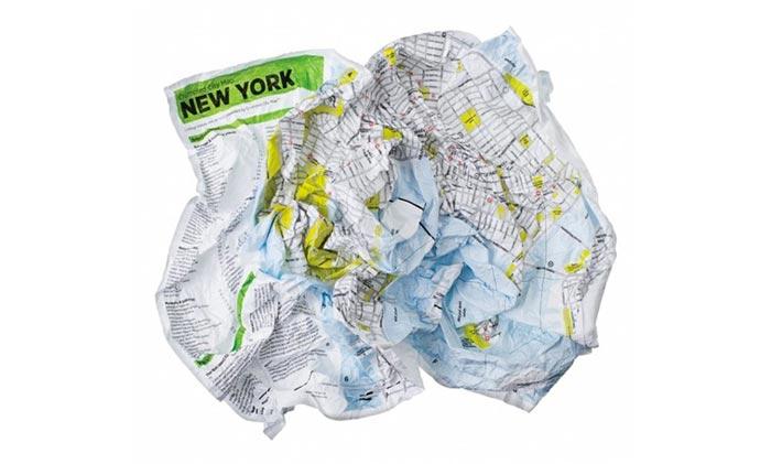 Cartes de villes design