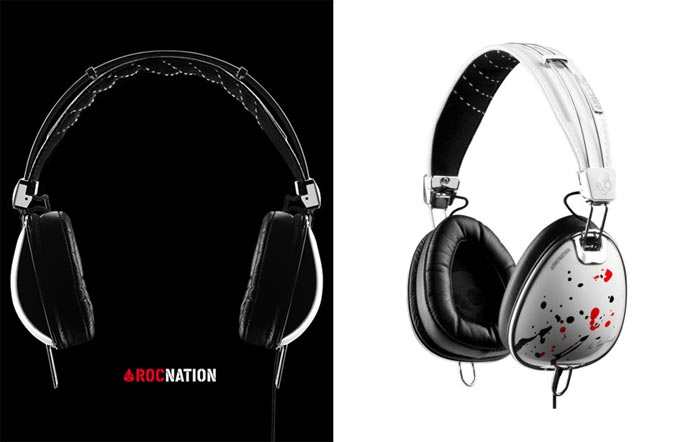 Casque audio design The Ting Tings x Skullcandy