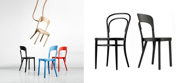 Chair 107 pour Thonet