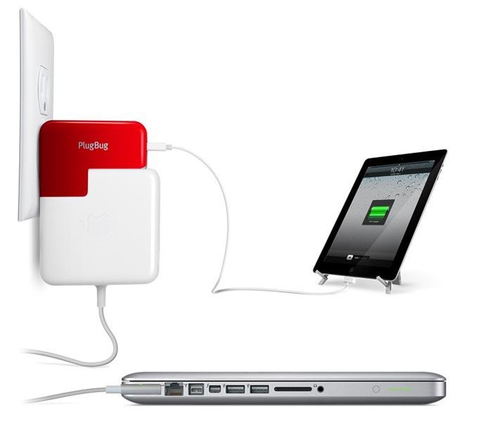 Chargeur combine pour  iPhone iPad et MacBook