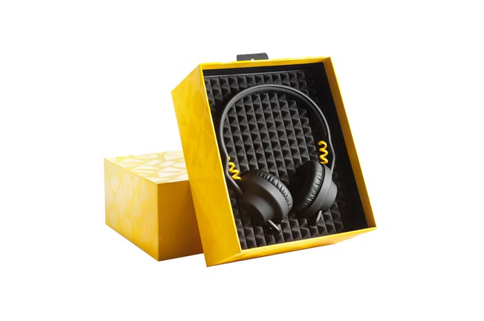 Coffret Casque audio design