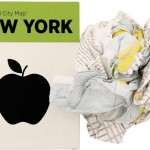 Crumpled City Maps new York