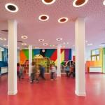 Ecole maternelle design-Salle de gym