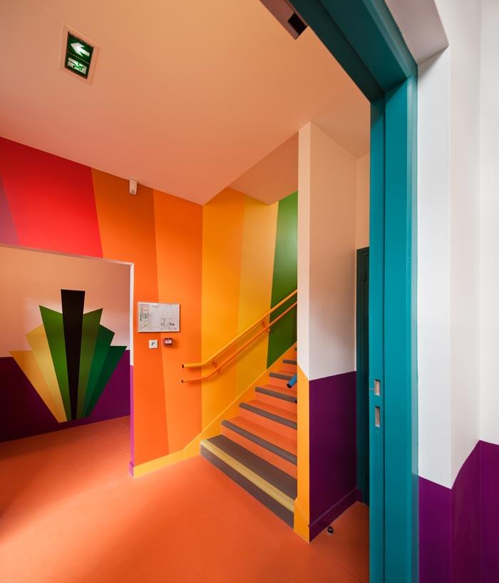 ecole maternelle design par palatre et leclere arkko. Black Bedroom Furniture Sets. Home Design Ideas