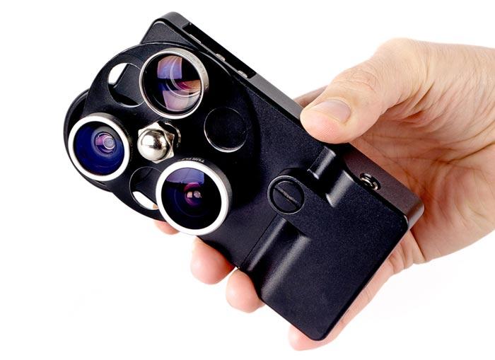Etui design iPhone Lens Dial