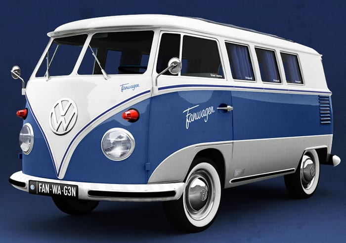 Fanwagen facebook par Volkswagen