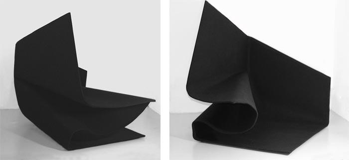 Fauteuil design Tapisofa par Olivier Gregoire