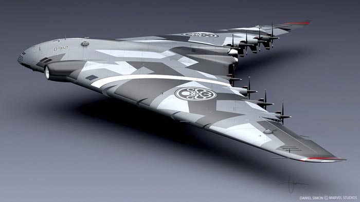 Hydra Flying wing Captain America