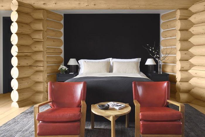 Lodge de luxe dans le Colorado-Chambre
