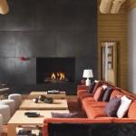 Lodge de luxe dans le Colorado-Salon
