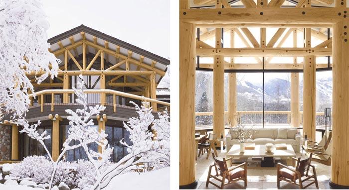 Lodge de luxe dans le Colorado