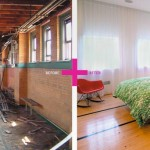 Loft new-yorkais-Chambre