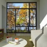 Maison design-Baie vitree