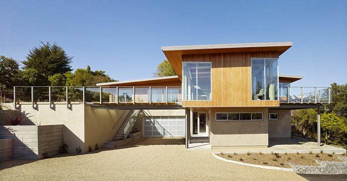 Maison design-Tiburon Bay House