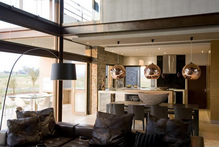 maison design en afrique du sud piece a vivre arkko. Black Bedroom Furniture Sets. Home Design Ideas
