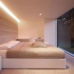 Maison design en Suisse-Chambre