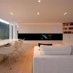 Maison design en Suisse-Piece a vivre