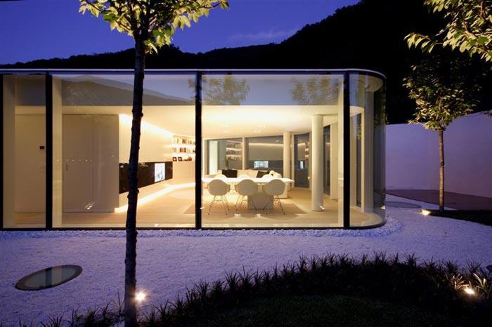 Maison design en Suisse