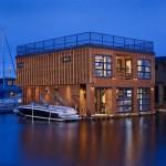 Maison design flottante