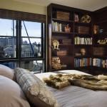 Maison design flottante-Chambre