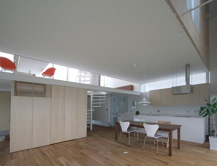 Maison design japonaise a Sakuragaoka-Cuisine