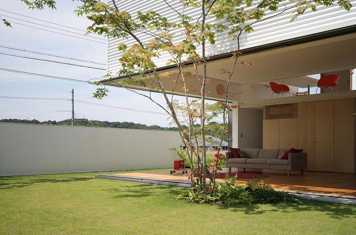 Maison design japonaise a Sakuragaoka-Terrasse
