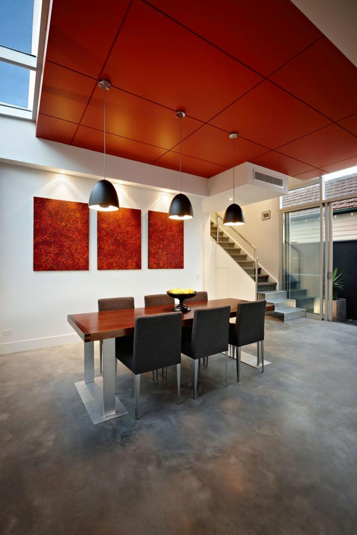 Maison design par LSA-Salle a manger