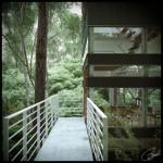 Maison japonaise design-Passerelle
