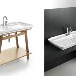 Mobilier de salle de bain minimaliste
