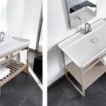 Mobilier de salle de bain minimaliste par ArtCeram