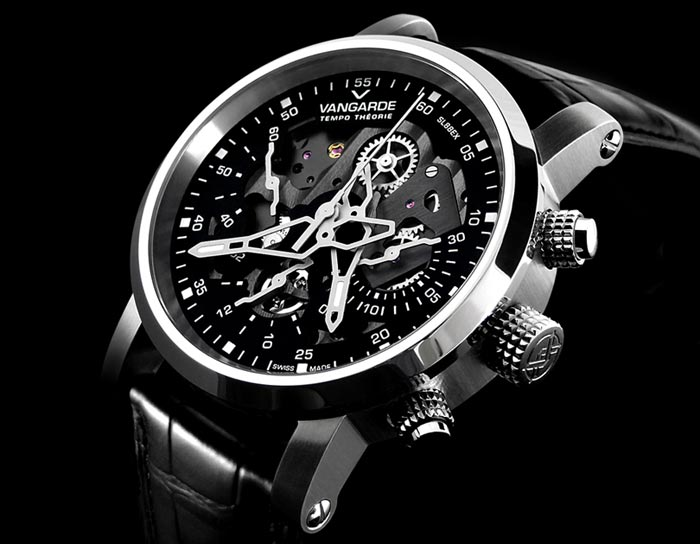 Montre design Vangarde Edition limitee