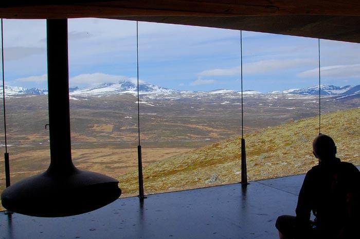 Norwegian Wild Reindeer Centre Pavilion par Snohetta