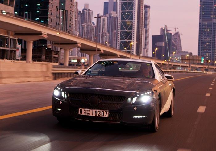 Nouvelle Mercedes benz SL