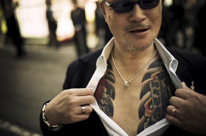 Photos Odo Yakuza Tokyo par Anton Kusters