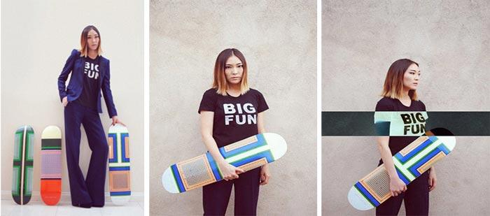 Skateboard Celine