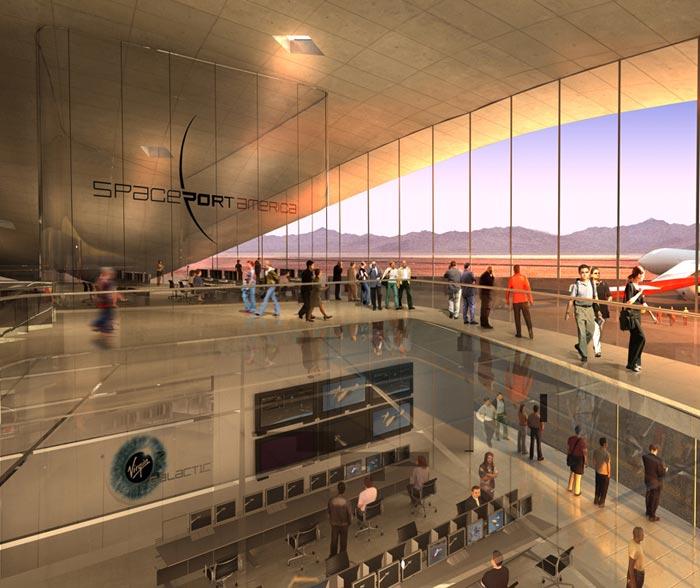 Spaceport America-Projet de Richard Branson