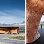 Station d'observation design en bois
