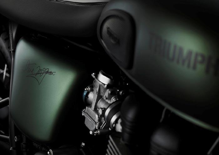 Triumph Bonneville T100 Steve McQueen Edition-Signature