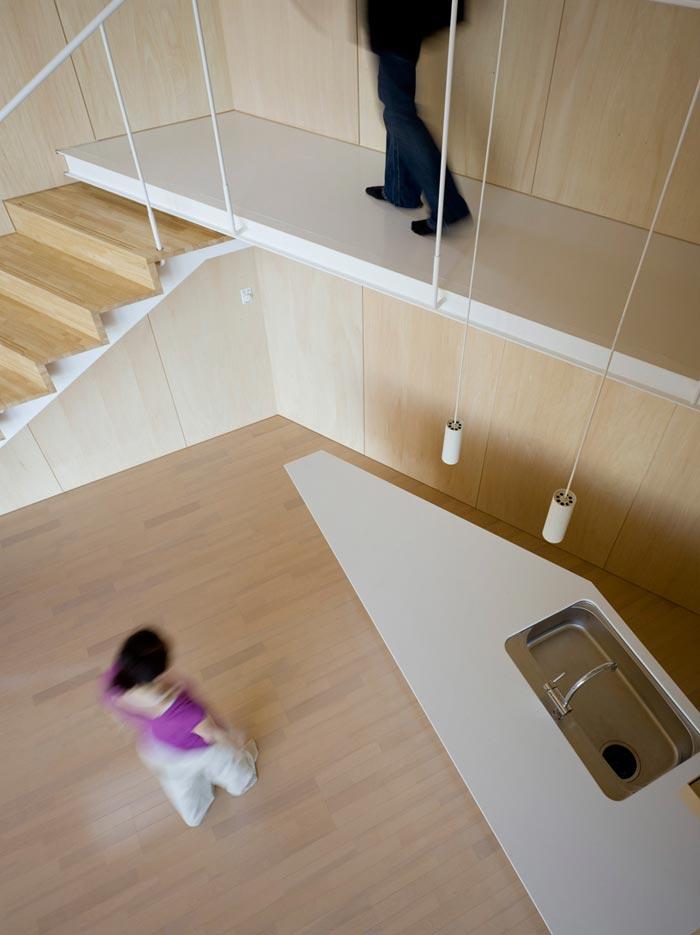 Villa design de bord de mer-Mezzanine