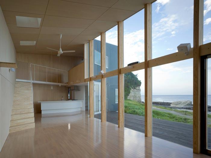 Villa design de bord de mer-Piece a vivre