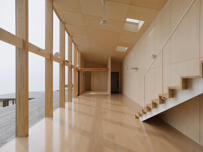 Villa design de bord de mer-Salon