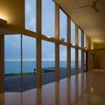 Villa design de bord de mer au Japon