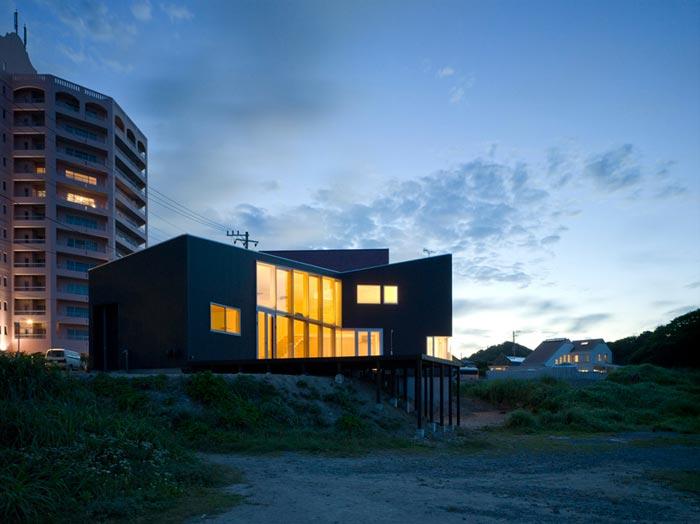 Villa design de bord de mer par Atelier Haretoke
